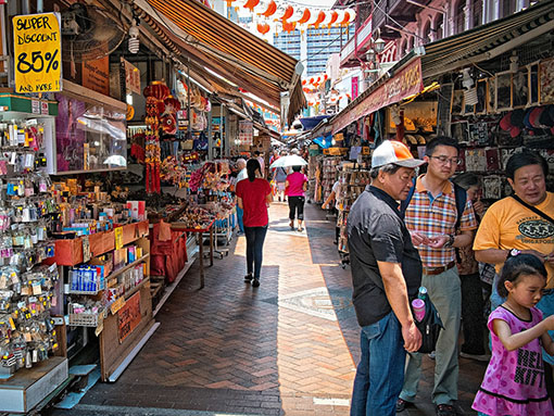 Visiting China Town