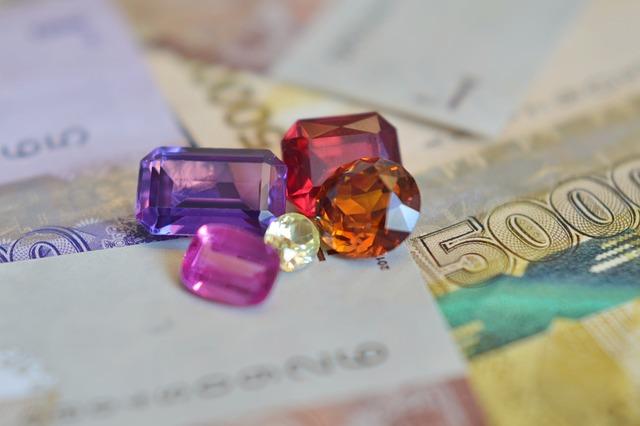 Business gems & diamonds
