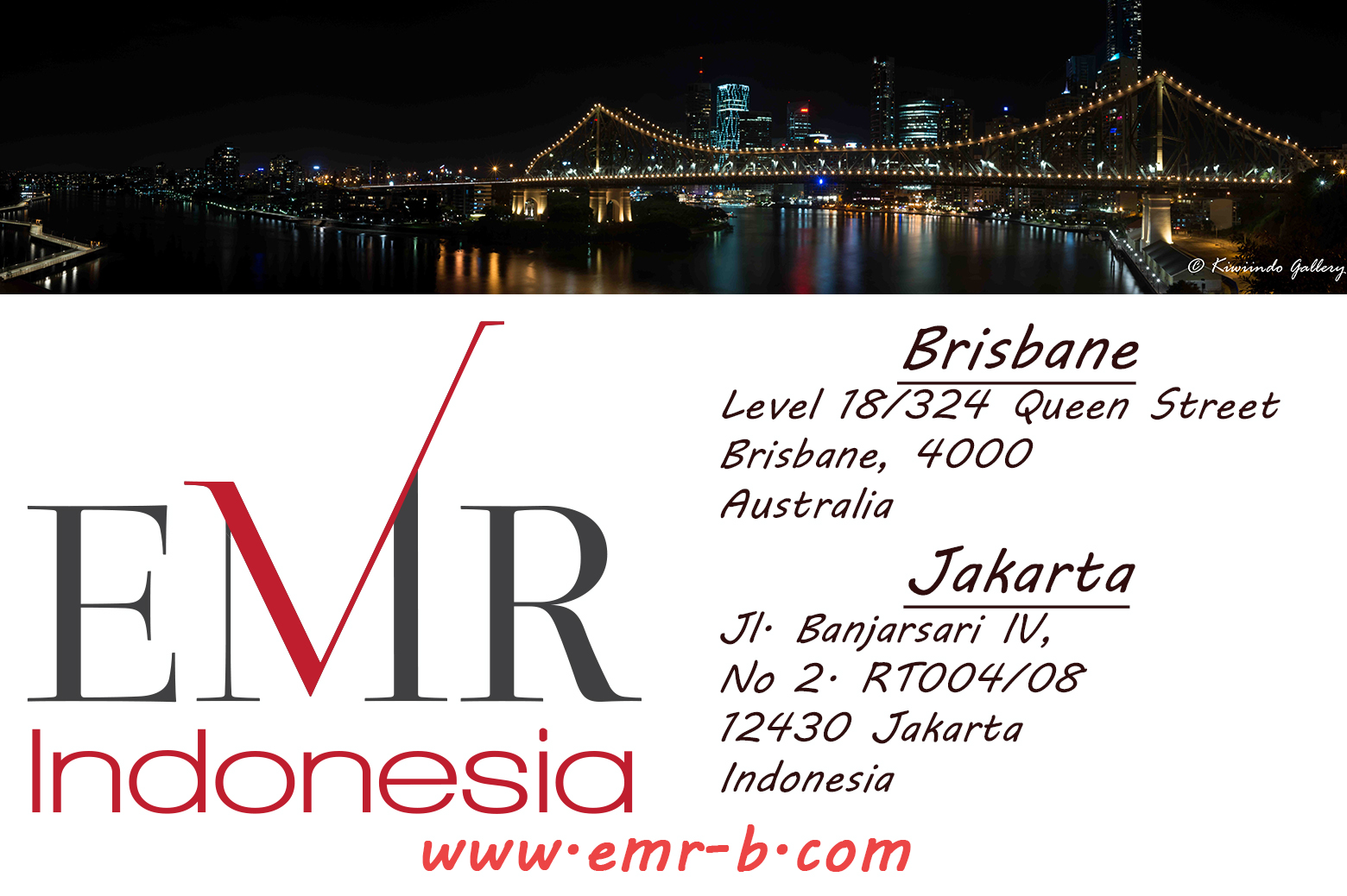 EMR Indonesia Address